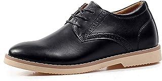 [ziitop] シークレットシューズ ビジネスシューズ メンズ フォーマル シークレット 外羽根 レースアップシューズ 7cmUP 紳士靴