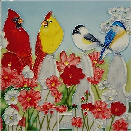 Kenneth Schilling 手绘陶瓷瓷砖 BKS-022