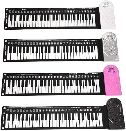 Roll Up Piano PortáTil 49 Teclas Instrumento De MúSica ...