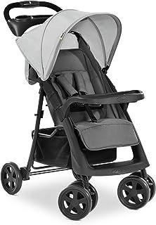 Hauck Shopper Neo II, 4-hjulig barnvagn upp till 25 kg, med liggläge från födseln, kompakt hopfällning, låg vikt på endast...