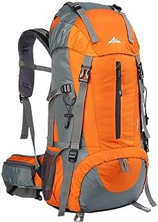 comprar comparacion Loowoko - Mochila de senderismo, 50 litros, impermeable, con cubierta de lluvia, para hombres, mujeres, deportes al aire l...