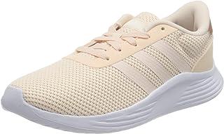 حذاء رياضي للجري برباط وشعار خلفي وخطوط جانبية للنساء من اديداس Lite Racer 2.0