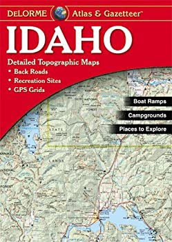 Garmin DeLorme Atlas & Gazetteer Paper Maps- Idaho AA-008798-000