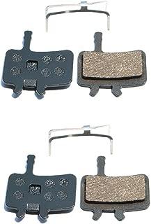 Resin Organic Semi-metal Brake Pads for AVID BB7 Juicy 3 5 7, Smooth Braking,Low Noise, Long Life, Kevlar, Copper, 2 Pairs