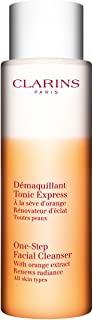 Clarins One-Step Facial Cleanser with Orange Extract Radiance Renewal size: 6.7 fl oz,