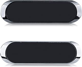 MHwan magnetische Autohalterung, Magnetische Telefonhalterung, Tragbarer Mini Autohalterung Super Thin Handyhalter für Smartphones und Tablets, 2 Stück