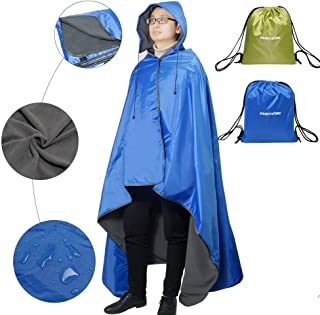 insulated poncho blanket