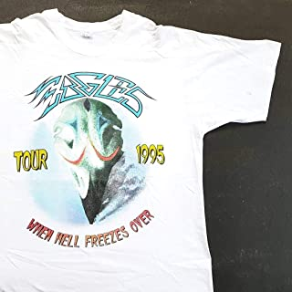 Vintage 1995 Eagles Hell Freezes Over Honolulu Tour T Shirt (W 23 x L 30) The Rolling Stones Bob Seger The Doobie Brothers
