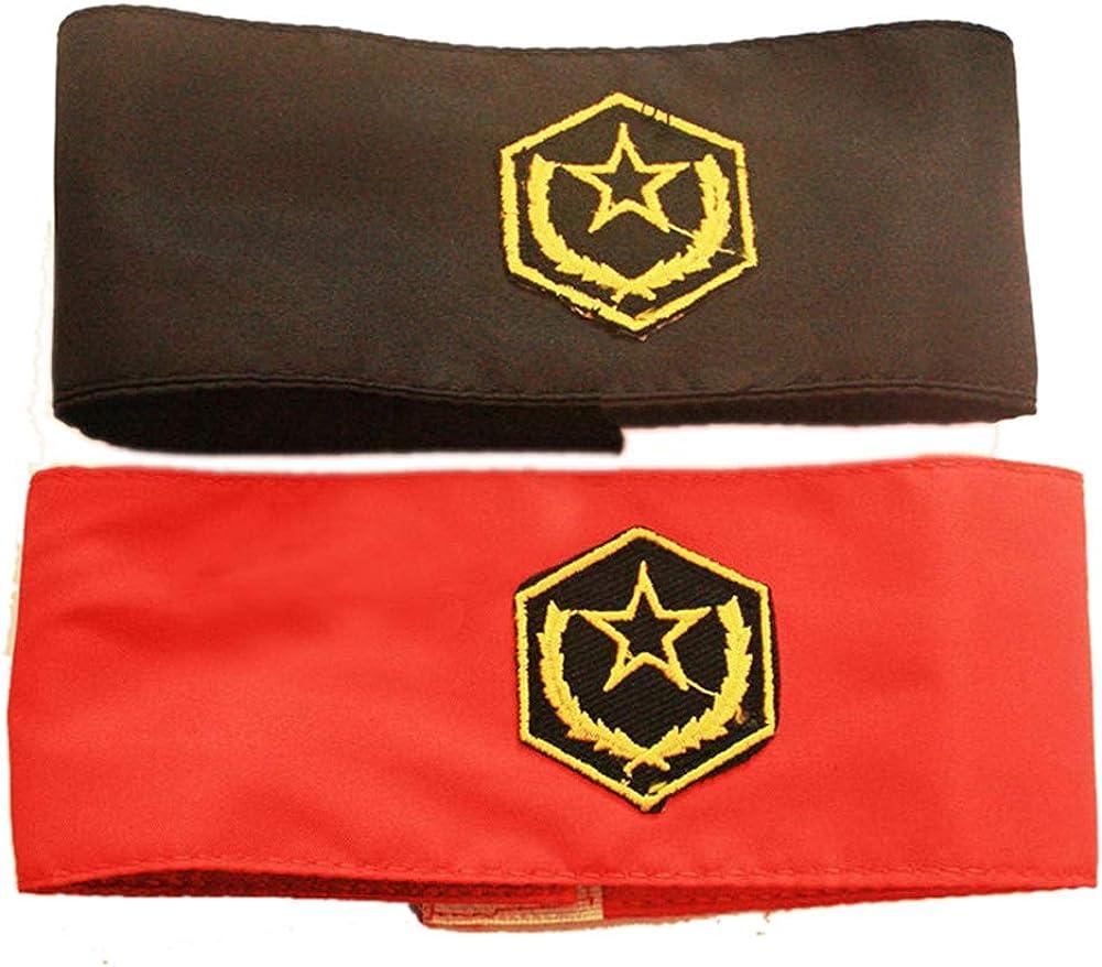for Michael Jackson Luxury Arm Sleeve Long-awaited Badge Self-Stick Captain Armband