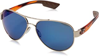 Costa Del Mar mens South Point Aviator Sunglasses