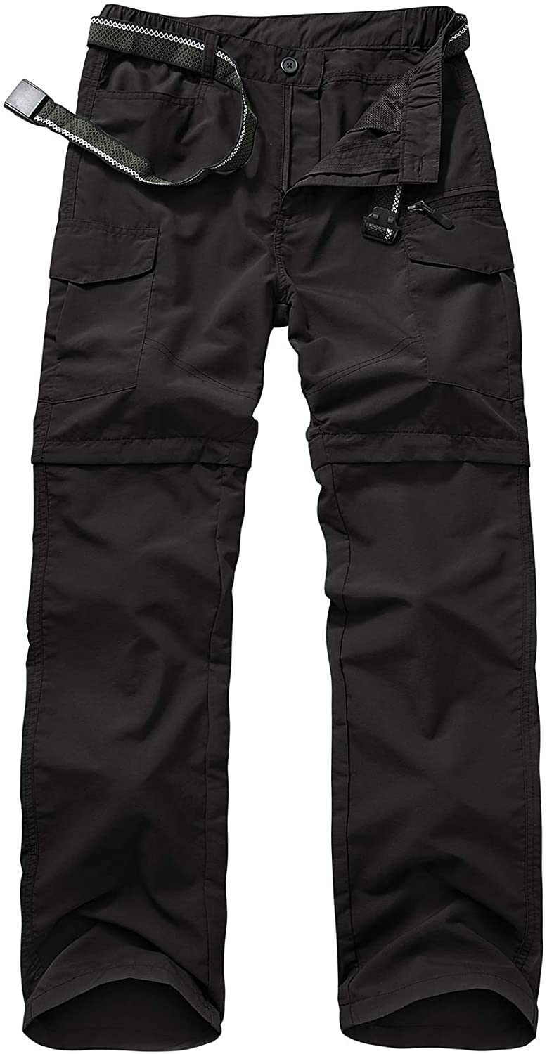 Max 46% OFF Mens Hiking Pants Convertible Quick Lightweight Zip Outd Dry Off Ranking TOP4