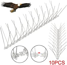 Yaheetech 50CM Bird Spikes Stainless Steel Wire 10PCS