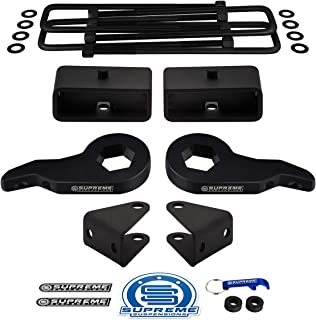 Supreme Suspensions - Full Lift Kit for Chevy Silverado 1500HD 2500HD 3500HD Adjustable 1