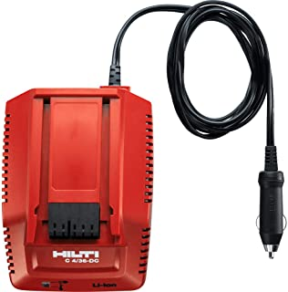 Hilti DC Car Charger C4/36 for All Li-Ion Batteries