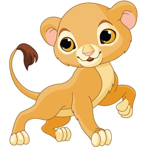 Tiere Spiele für Kinder - lustige und lehrreiche Puzzle Lernspiel für Vorschulkindergarten oder Kleinkinder, Jungen und Mädchen jeden Alters