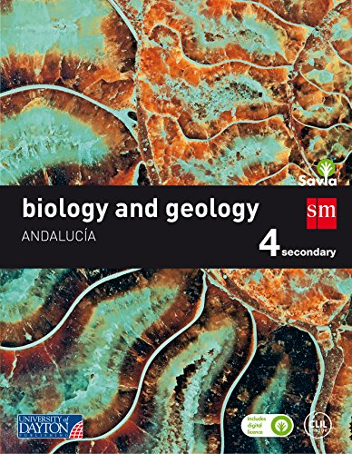 Biology and geology. 4 Secondary. Savia. Andalucía