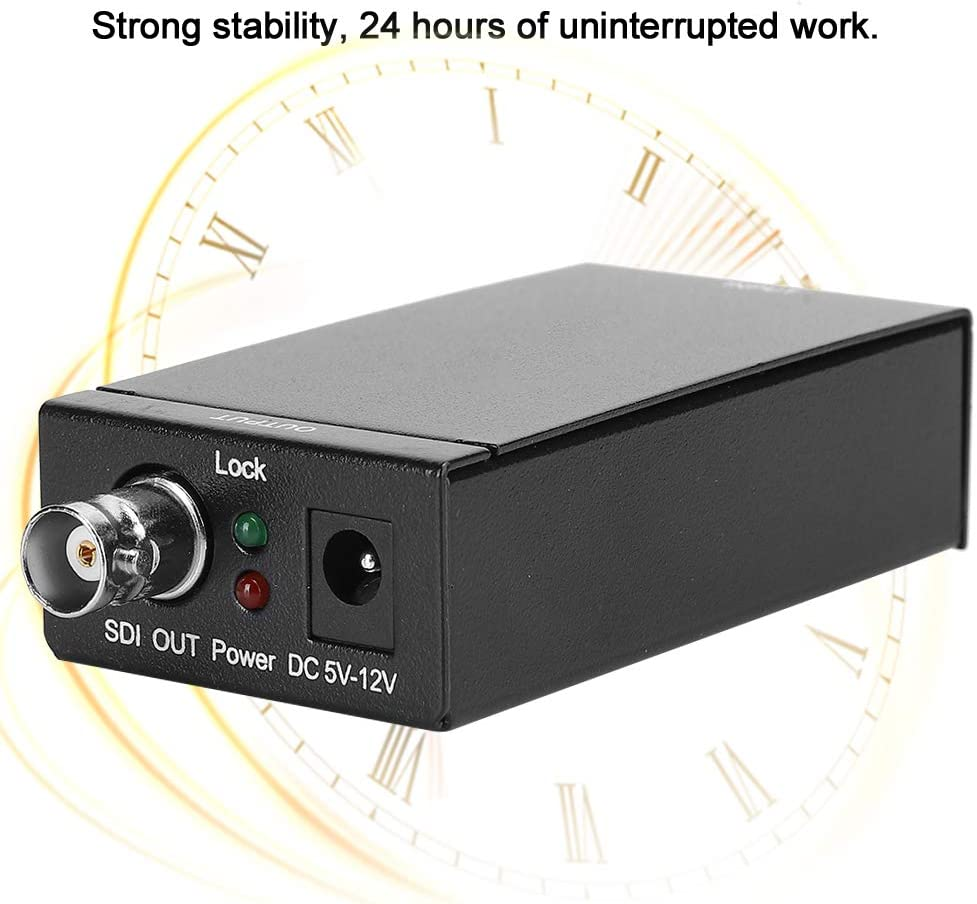 Spina UE SDI Ymiko Adattatore Audio//Video Professionale ad Alta Definizione Convertitore HDMI a 3G SDI 110-240 V