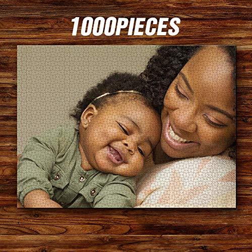 SOUFEEL Puzzle Personalizado de Fotos Personaliza Puzzle Cartón Acabado Brillante Regalo para Niño 1500 Piezas