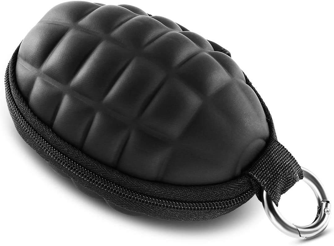 Suuree Grenade Style Pouch Professional Cas Keychain Purse Safety and trust Coin Super special price