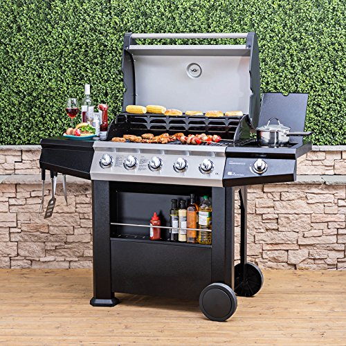 Fire Mountain Olympus Plus 5 Burner Gas Barbecue