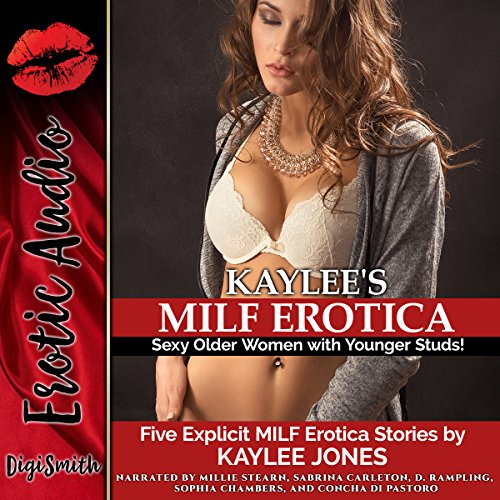 Kaylee's MILF Erotica: Sexy Older Women with Younger Studs! Five Explicit MILF Erotica Stories Titelbild