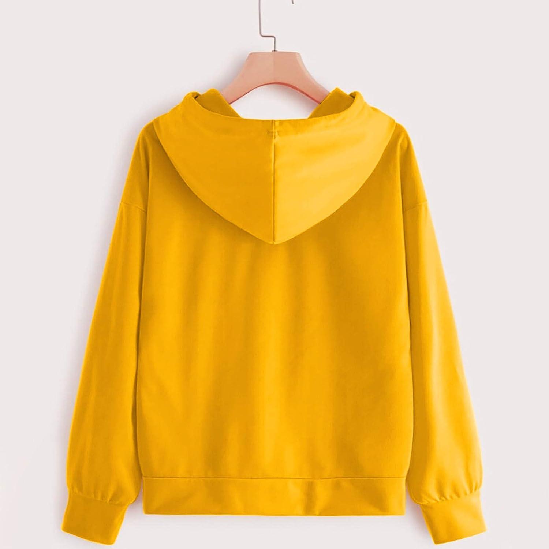 Sweatshirt Pullover Fleece Drop Shoulder Striped Hoodie