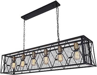 Best farmhouse light fixtures dining room Reviews