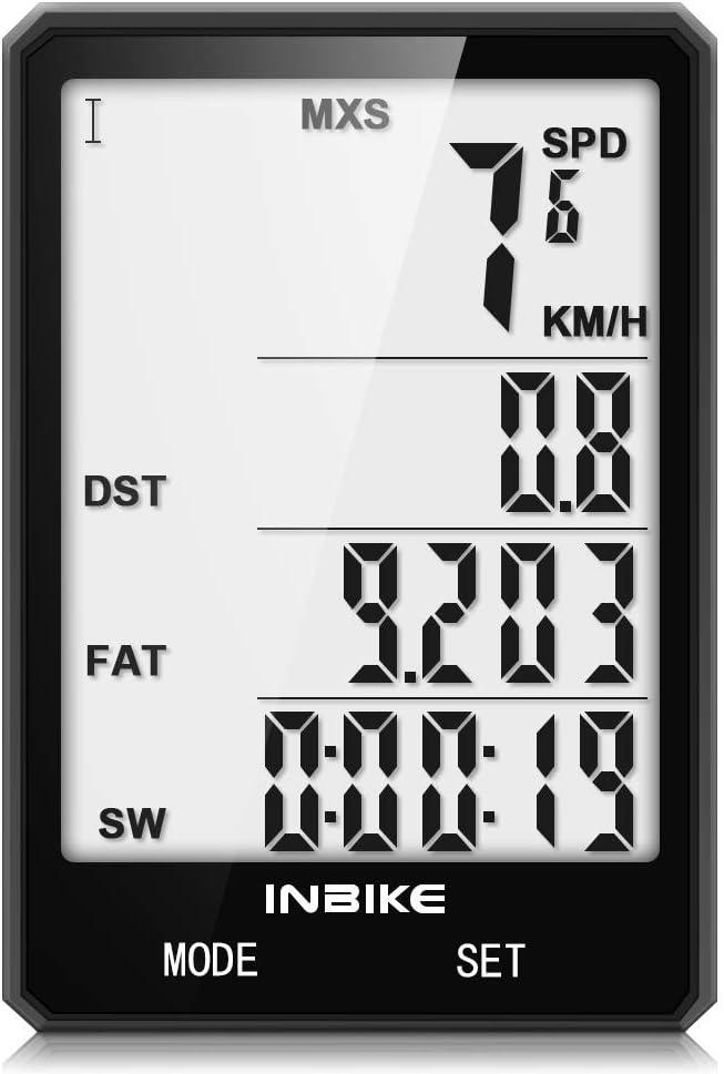 Bike Computer Max 79% OFF Bicycle Speedometer Odometer Dealing full price reduction Waterproof IPX6