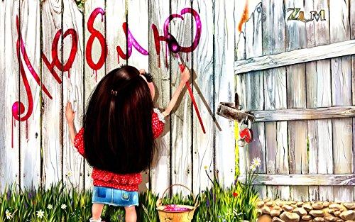 Lege doe-het-zelf schilderen op nummers, voor volwassenen, meisjes, tekenen, op nummers, set op canvas voor beginners, nieuw schilderwerk, 40 x 50 cm, zonder lijst