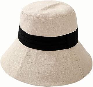 Hat New Summer Hearty Colour Cotton Fisherman hat (Color : White, Size : 56-58CM)