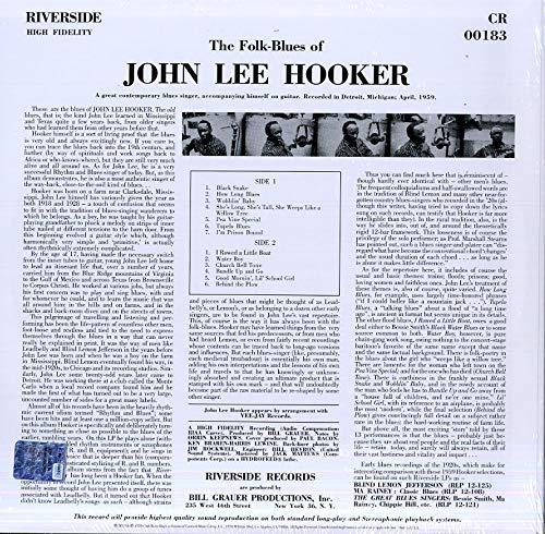 The Country Blues Of John Lee Hooker (Vinyl)