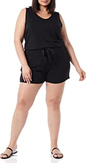 Daily Ritual Women's Supersoft Terry Relaxed Fit Sleeveless Romper