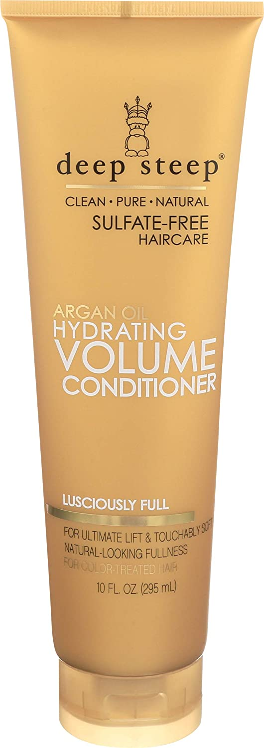 Deep Steep Indianapolis Mall Argan 67% OFF of fixed price Hydrating Volume Fluid Conditioner 10 Ounce