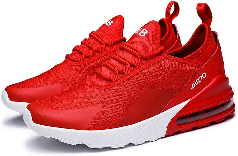EGS-schuhe Laufschuhe Wild Large Größe Herrenschuhe Freizeitschuhe Herren Sportschuhe,Grille Schuhe (Farbe   rot, Größe   42)