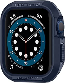 Spigen Rugged Armor Cover Case Compatible with Apple Watch Series 7 (45mm)   Series 6   SE   Series 5   Series 4 (44mm) - ...