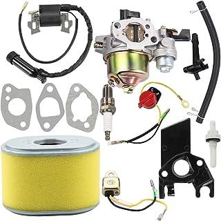 Dalom GX160 Carburetor + Ignition Coil + Air Filter Tune Up Kit for Honda GX140 GX 160 GX168 GX200 5HP 5.5HP 6.5HP Engine