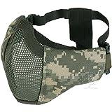 SHENKEL ハーフフェイス・プロテクトメッシュマスク フェイスガード ACU 顔の形に合わせて使える 快適マスク