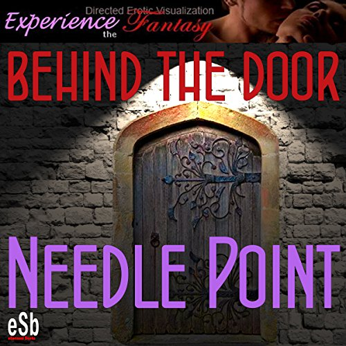 Behind the Door: Needlepoint audiobook cover art