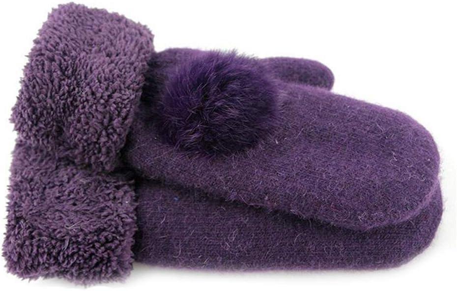 Liyuzhu Gloves Mitten Max 42% OFF Women Autumn Max 75% OFF Cashmere Inverted Warm Winter