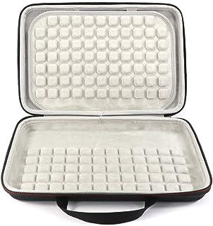 Opbergtas Draagtas met ritssluiting slijtvast draagbaar toetsenbord met handvat waterdicht multi-Device EVA Case schokbest...