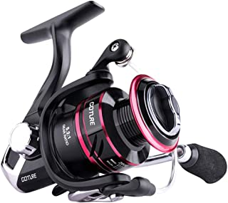 Goture Spinning Reel - Stainless Steel Bearings Smooth Powerful Fishing Reel Spinning 5.2: 1 Gear Ratio Reels Left/Right Interchangeable Ice Fishing Reels