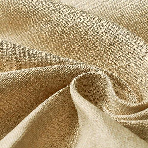 Bauernleinen - 100% Rohleinen, Farbe: flachs-beige - blickdicht, atmungsaktiv, vorgewaschen - Stoff - Meterware