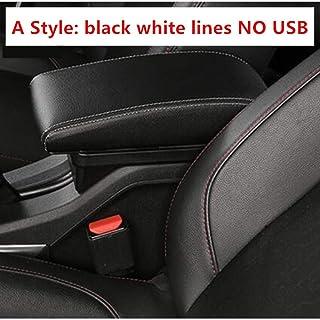 per Hyundai I20 Dacia Duster Corsa E Opel Adam Astra J in Microfibra Braccioli per Auto Eillybird