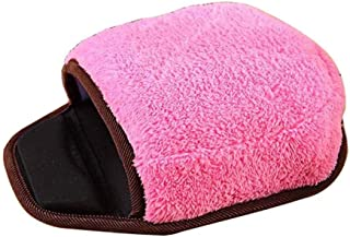 USB Heated Mouse Pad Warm Wrist Strap Winter Warm Pink Wrist Strap Winter Warm Mouse Pad USB Port AXCDE (Color : Pink, Env...