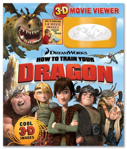 How to Train Your Dragon Storybook and 3D Viewer
