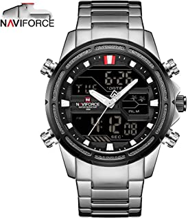 Luxury Brand Men Watch Fashion Sports Watches Men's Waterproof Quartz Clock Man Stainless Army Military Wrist Watch