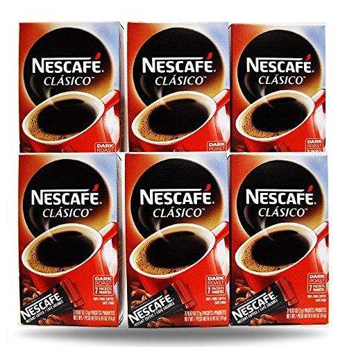 ArtMuseKitsMikash Nescafe Instant Coffee, 42 Packets (Clasico)
