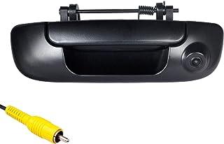 Omotor Tailgate Backup Camera for Dodge Ram 1500,2500,3500 2002-2009 Black Tailgate Backup Reverse Handle with Backup Camera
