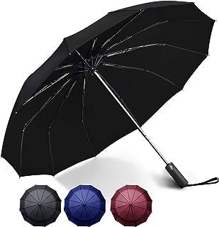 自動開閉 折りたたみ傘 大きい メンズ ワンタッチ おりたたみ傘 撥水 頑丈 晴雨兼用 折り畳み傘 100 遮光