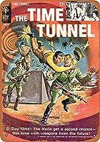 白い桜雑貨屋 看板 コカ 通販 レトロ ブリキ 1967 The Time Tunnel Comic 壁飾 アンティーク メタル レトロ 看板 販売(20x30cm)